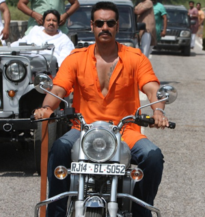 07jul ajayinterview03 With Bol Bachchan, we will be providing 100 plus per cent entertainment!   Ajay Devgn