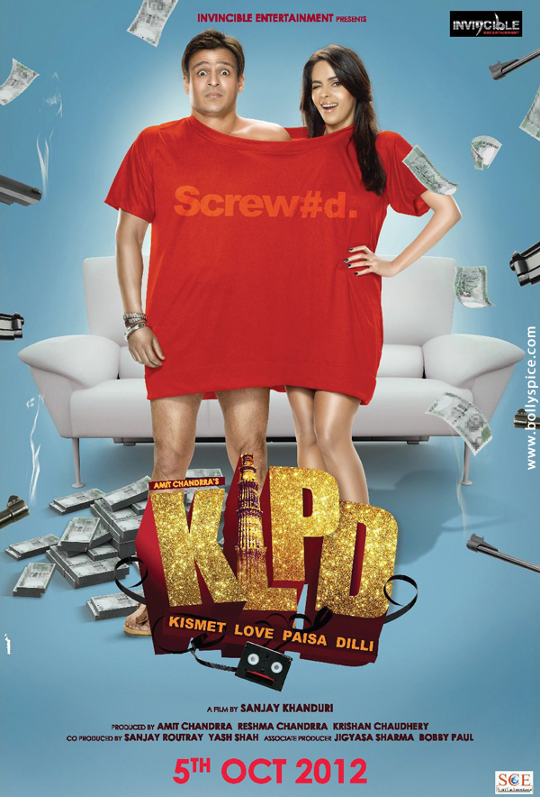 12jul KLPD1poster Vivek Oberoi and Mallika Sherawat unveil the first poster of Kismat Love Paisa Dilli