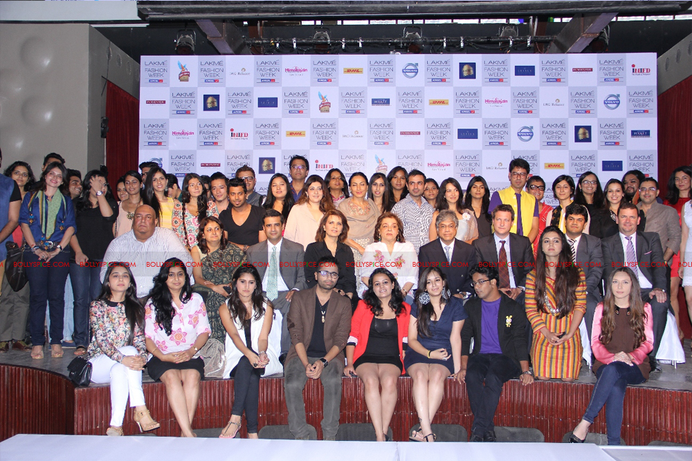 12jul LFW selection02 Lakme Fashion Week holds press conference to announce participating Designers and Sponsors for Winter/Festive 2012
