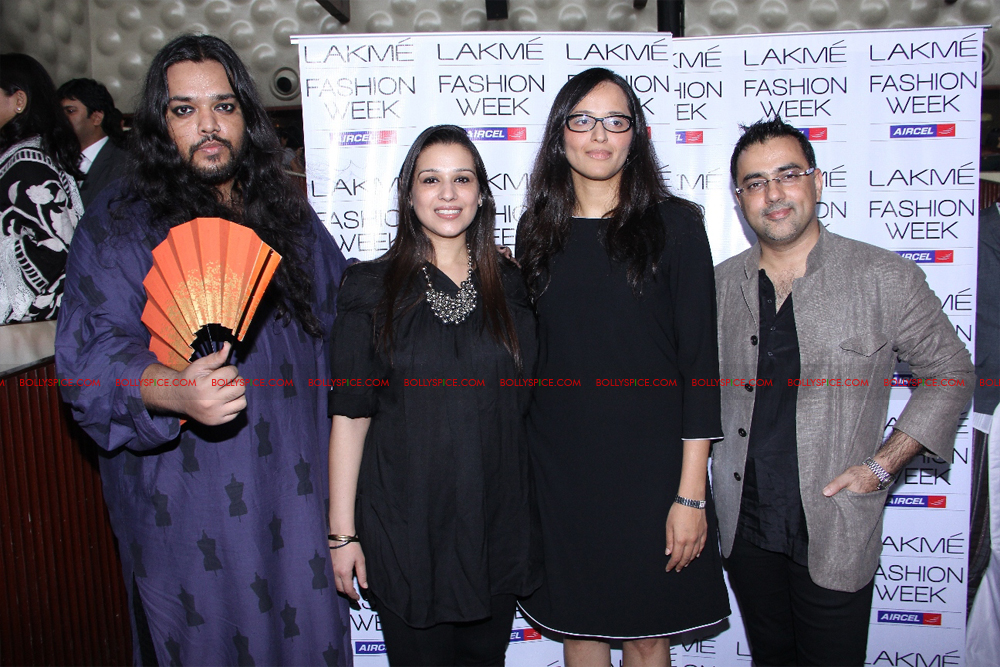 12jul LFW selection03 Lakme Fashion Week holds press conference to announce participating Designers and Sponsors for Winter/Festive 2012