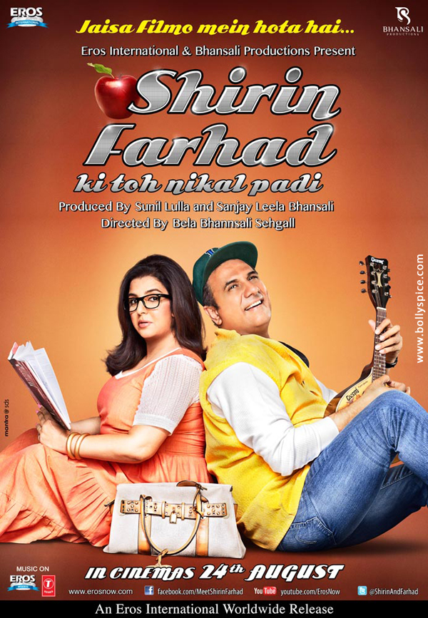 12jul SFKTNP DDLJposter Shirin Farhad Ki Toh Nikal Padi   Music and Third Poster launch