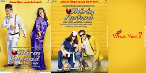12jul SFKTNP filmiposters 300x150 Shirin and Farhad on a Bollywood tour