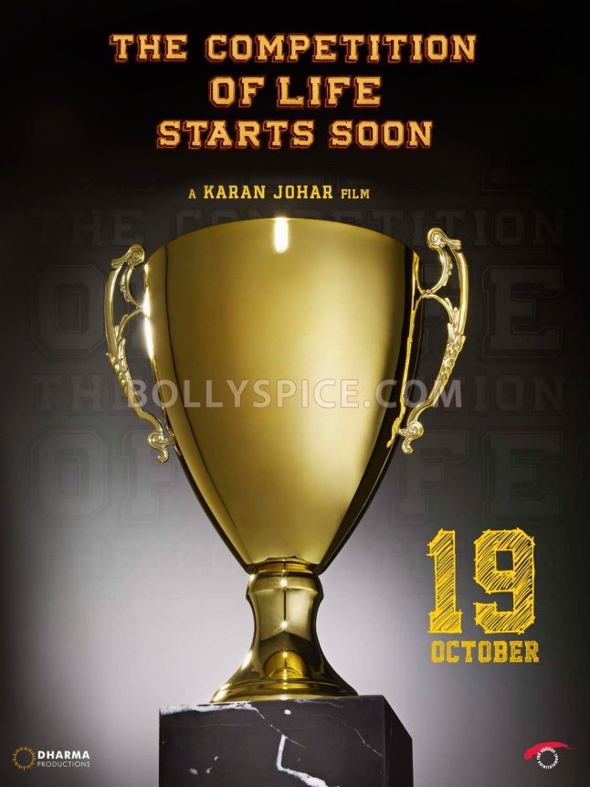 12jul SOTY 1stteaserposter Dharma Productions releases teaser poster of Student of the Year