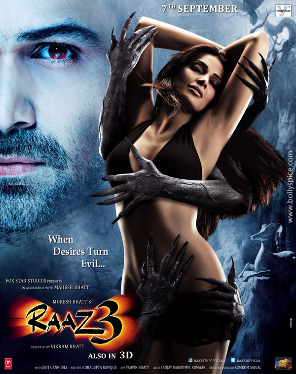 12jul bipasha raaz3 Bipasha Basu never been conscious of her body