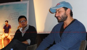12jul saif cocktailUKpressconf03 300x175 'Do this scene again' said Homi Adajania   Saif Ali Khan at Cocktail press conference in London