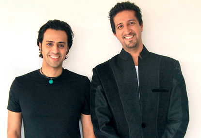 Salim and Sulaiman - the Sufi Music experts. Image Courtesy: Bollyspice.com