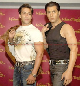 12jul salman tussauds NY 277x300 Salman Khans wax figure to become a part of attraction at Madame Tussauds, New York