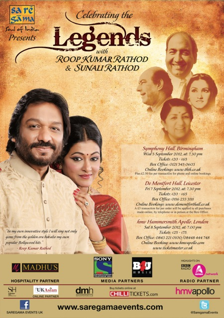12jul saregama celebratinglegends Get ready for the UK concert tour that pays tribute to the legends of Hindi film music: 'Celebrating the Legends'