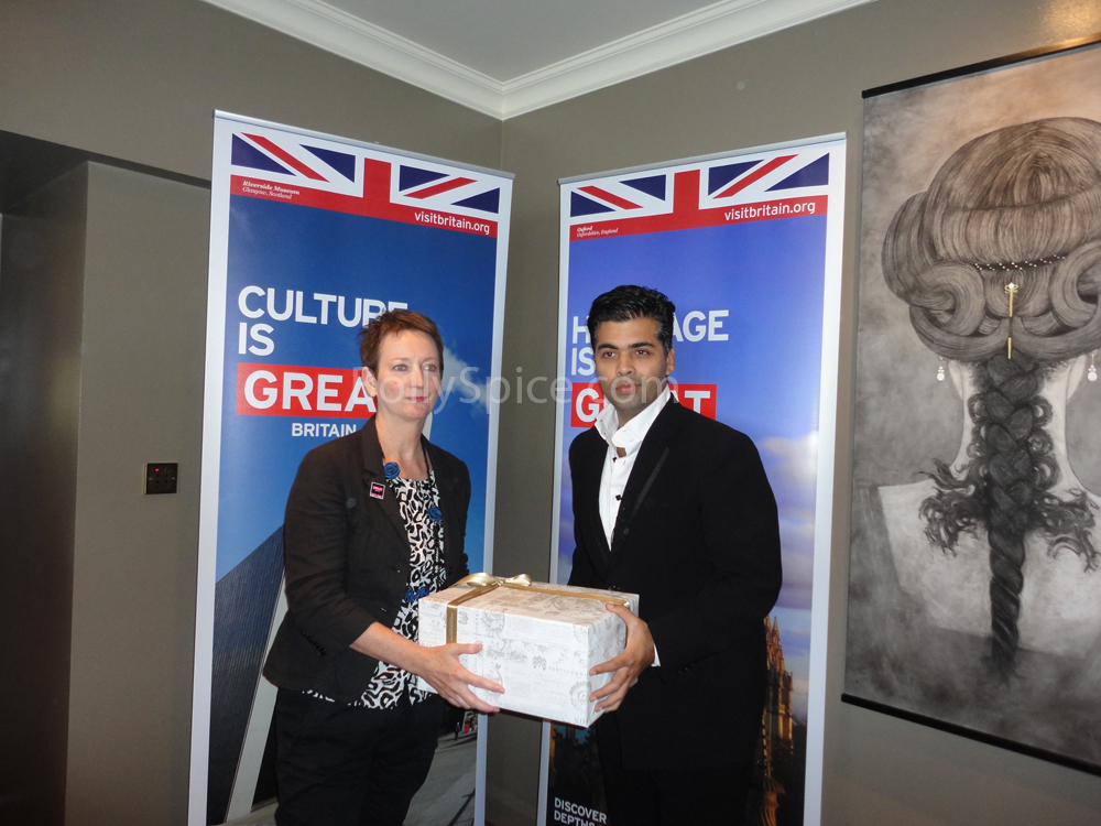 12july kjolondon01 Karan Johar becomes the Goodwill Tourism Ambassador for VisitBritain
