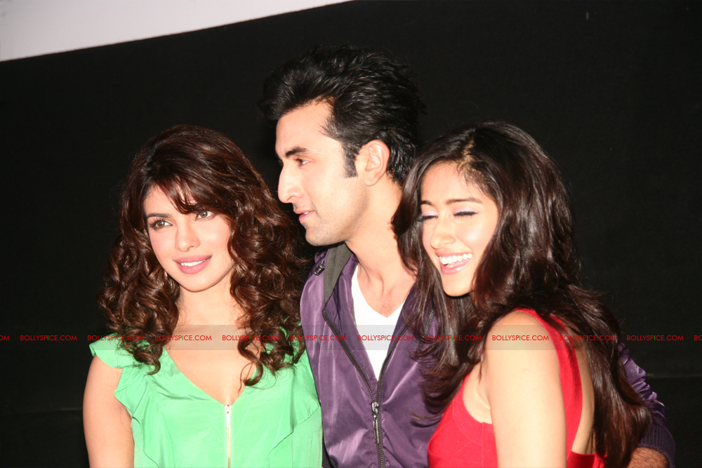 12jun barfitrailerlaunch09 In Pictures and Video: Ranbir and Priyanka at Barfi Trailer Launch!