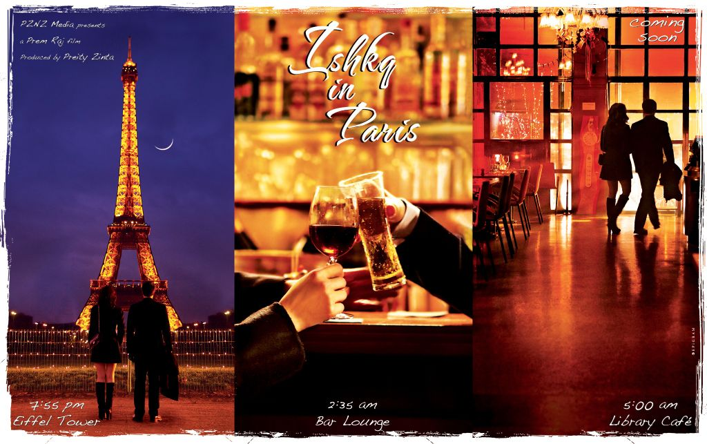 First Look: Preity Zintas Ishkq in Paris