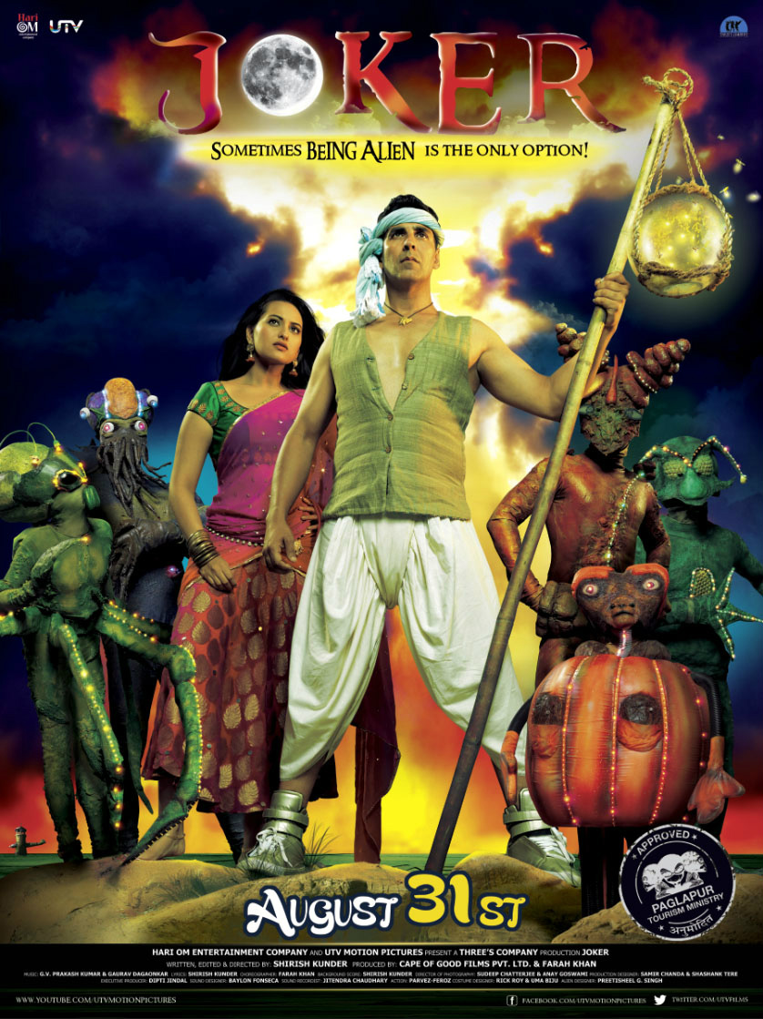 Akshay, Sonakshi and Aliens! Check out this first look of Joker!