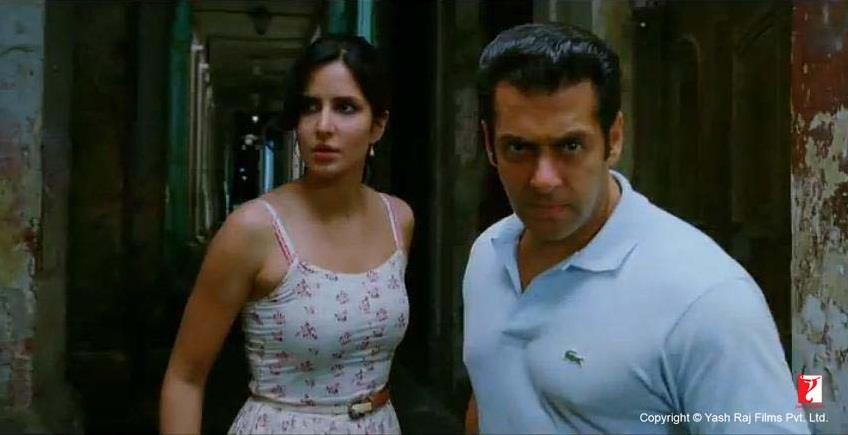 ett14 New Ek Tha Tiger Digital Poster and Some Cool Stills too!
