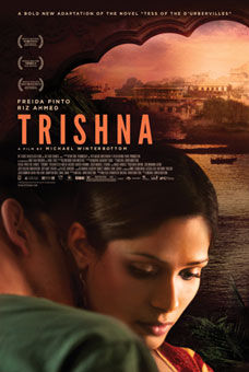 trishna poster lo Director Michael Winterbottom on Creating Tess into Trishna!
