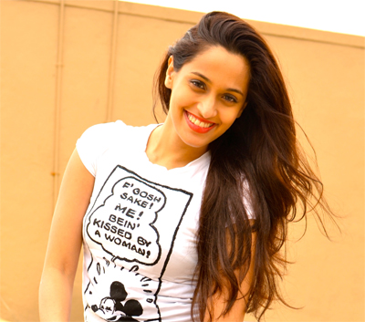 "08aug shwetainterview03 Shweta Pandit: ""Being a part of David as a singer and even more an actress was just amazing!"""