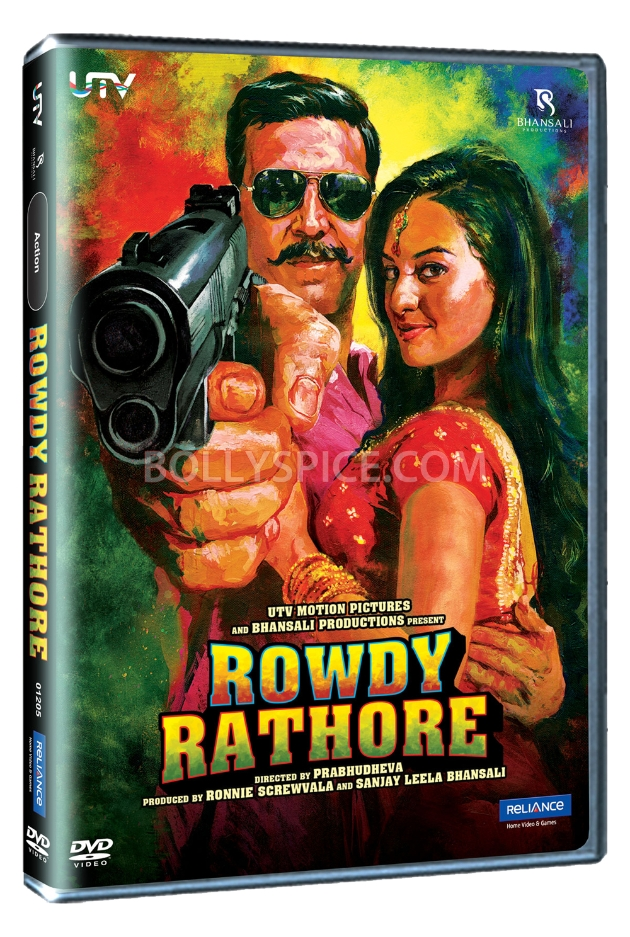 12aug RowdyRathore DVD02 Bring home Rowdy Rathore!