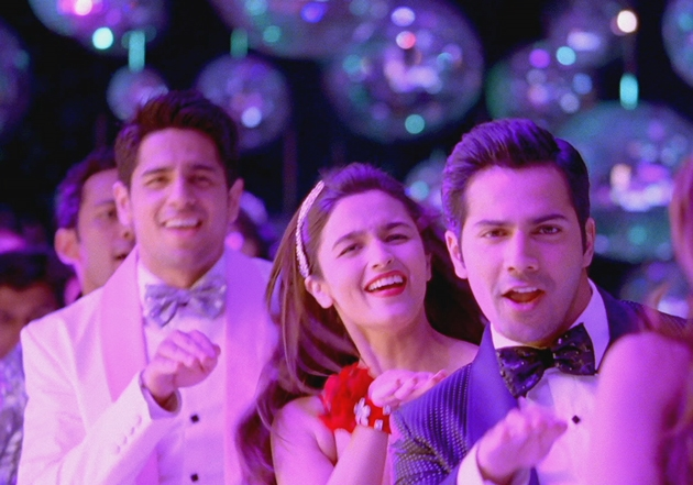 12aug SOTY disco Its Disco time on the sets of Student of the Year
