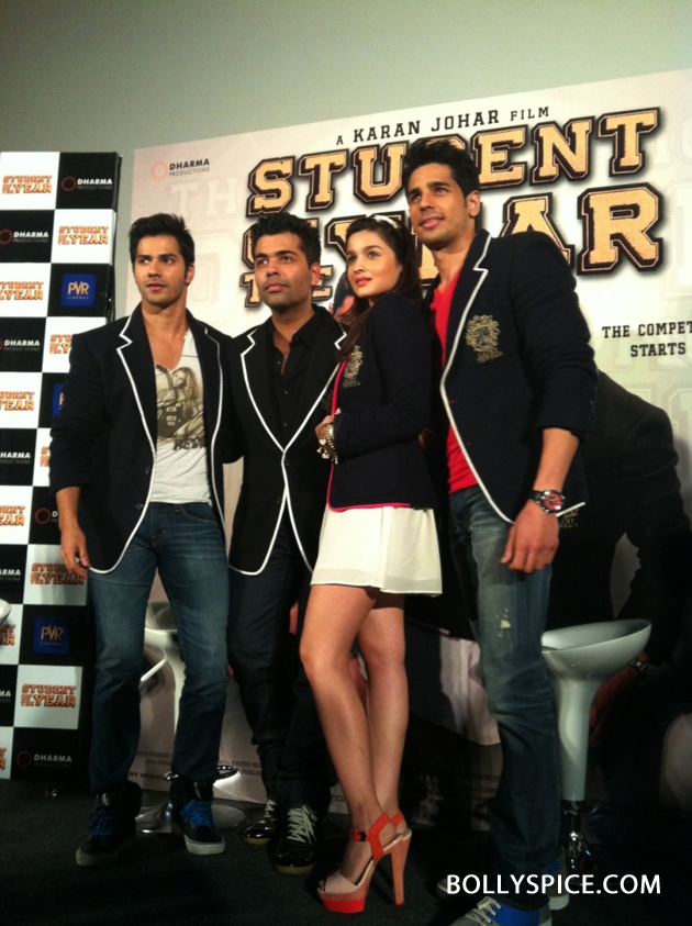 12aug SOTY musiclaunchsoon Tune in to Student Of The Year