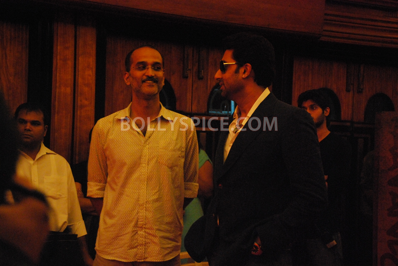 12aug abhishek nautankisaala02 Abhishek Bachchan calls Ayushmann 'Nautanki Saala'