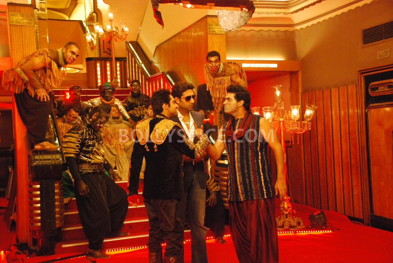 12aug abhishek nautankisaala04 Abhishek Bachchan calls Ayushmann 'Nautanki Saala'