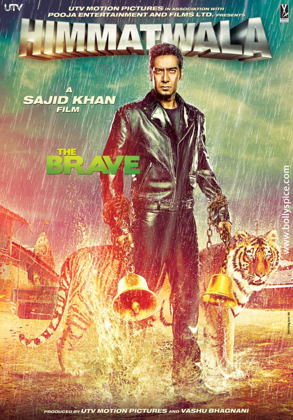 12aug himmatwala poster01 First Look of Ajay in Himmatwala!