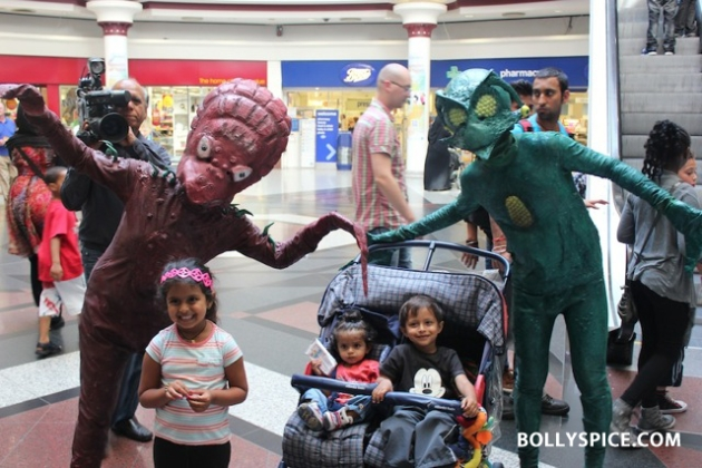 12aug jokeraliensinlondon03 Aliens land in London ahead of India's first extra terrestrial comedy, Joker
