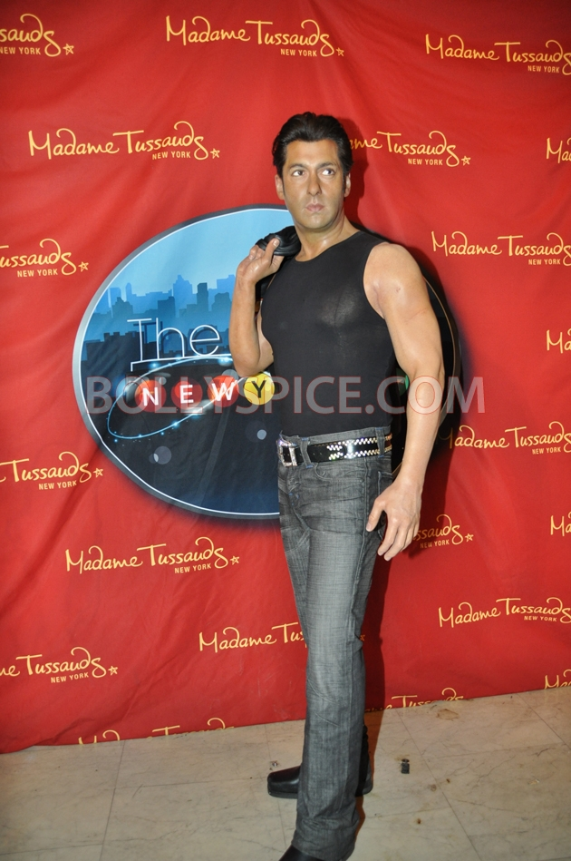12aug salman tussaud newyork01 Salman Khan takes over New York!