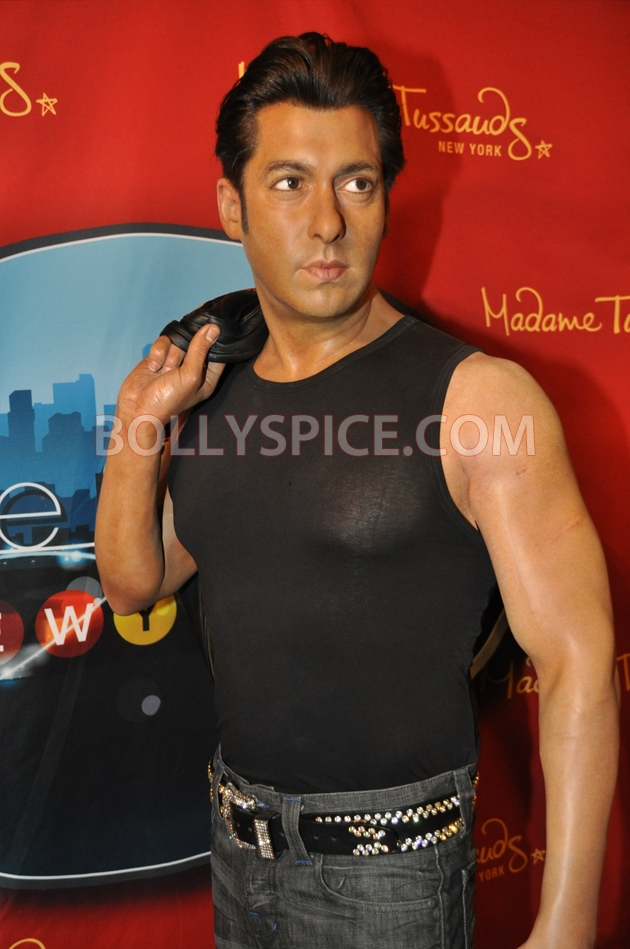 12aug salman tussaud newyork03 Salman Khan takes over New York!