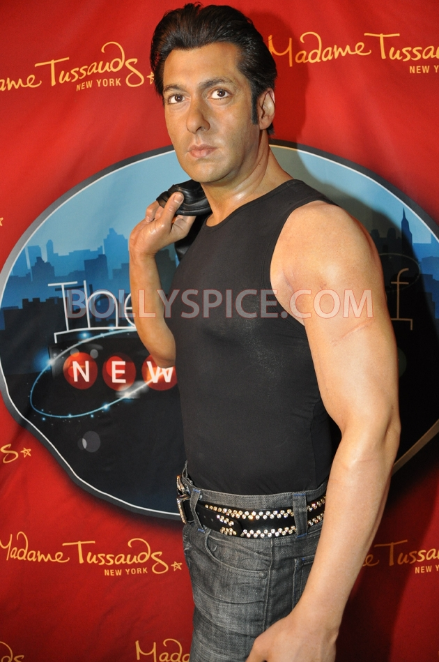 12aug salman tussaud newyork04 Salman Khan takes over New York!