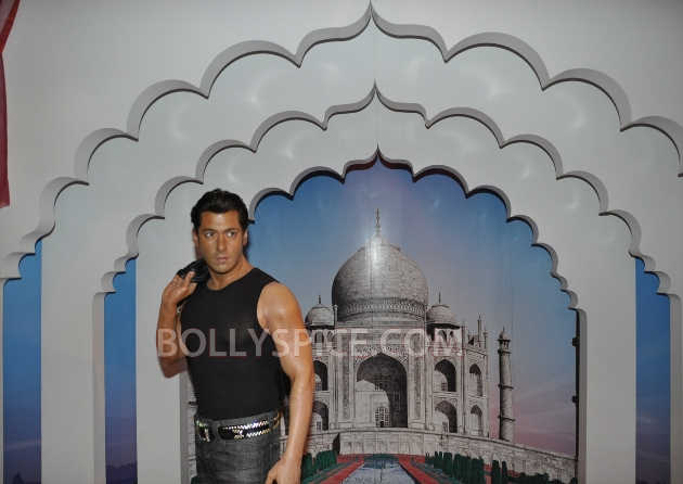 12aug salman tussaud newyork05 Salman Khan takes over New York!