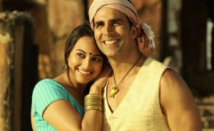 Sonakshi is under the spell of Akshay!