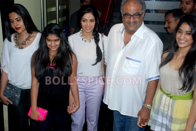 12aug sridevi englishvinglishlaunch06 Sridevi celebrates her birthday with the trailer launch of her movie English Vinglish