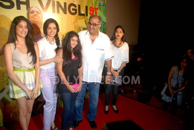 12aug sridevi englishvinglishlaunch07 Sridevi celebrates her birthday with the trailer launch of her movie English Vinglish