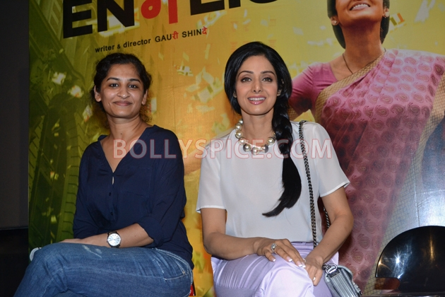 12aug sridevi englishvinglishlaunch09 Sridevi celebrates her birthday with the trailer launch of her movie English Vinglish