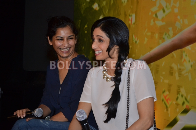 12aug sridevi englishvinglishlaunch10 Sridevi celebrates her birthday with the trailer launch of her movie English Vinglish
