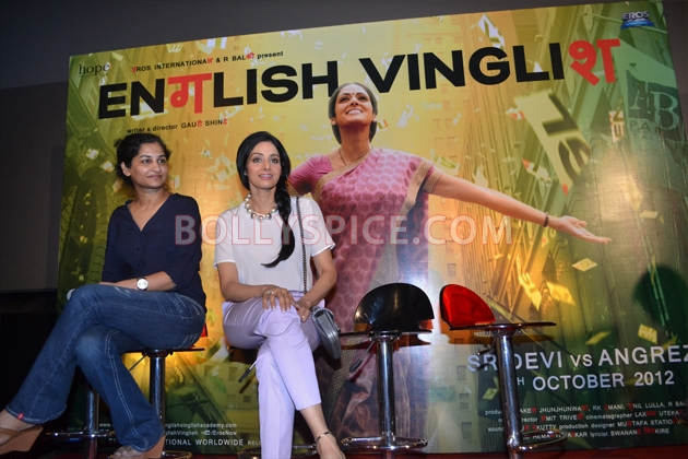 12aug sridevi englishvinglishlaunch11 Sridevi celebrates her birthday with the trailer launch of her movie English Vinglish