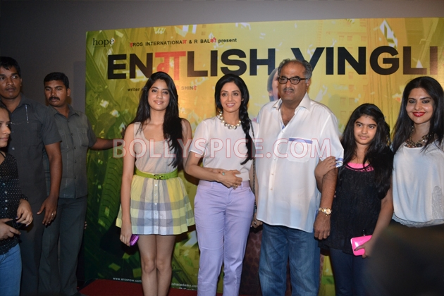 12aug sridevi englishvinglishlaunch14 Sridevi celebrates her birthday with the trailer launch of her movie English Vinglish