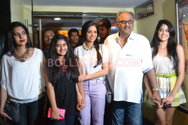 12aug sridevi englishvinglishlaunch15 Sridevi celebrates her birthday with the trailer launch of her movie English Vinglish