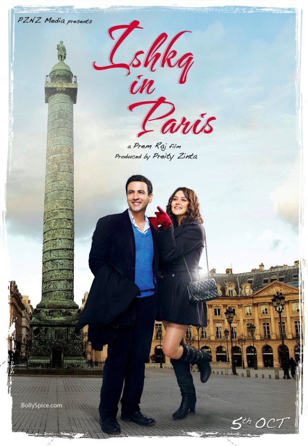 Ishkq in Paris poster 3 Ishkq in Paris Trailer!