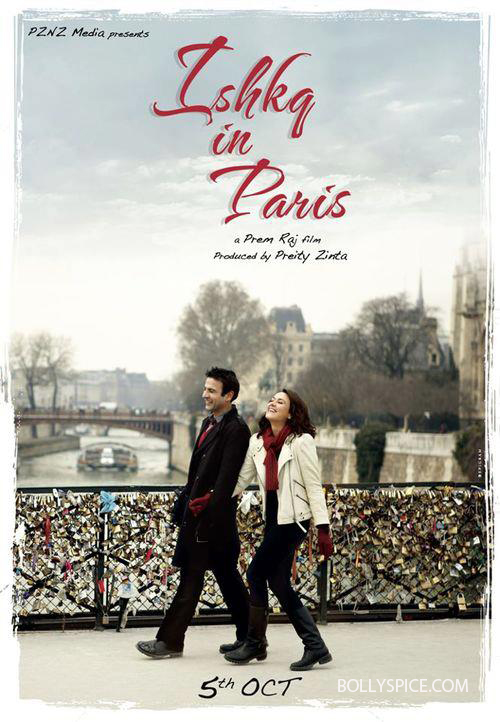 ishkqinparis First Look: Preity Zinta in Ishkq In Paris