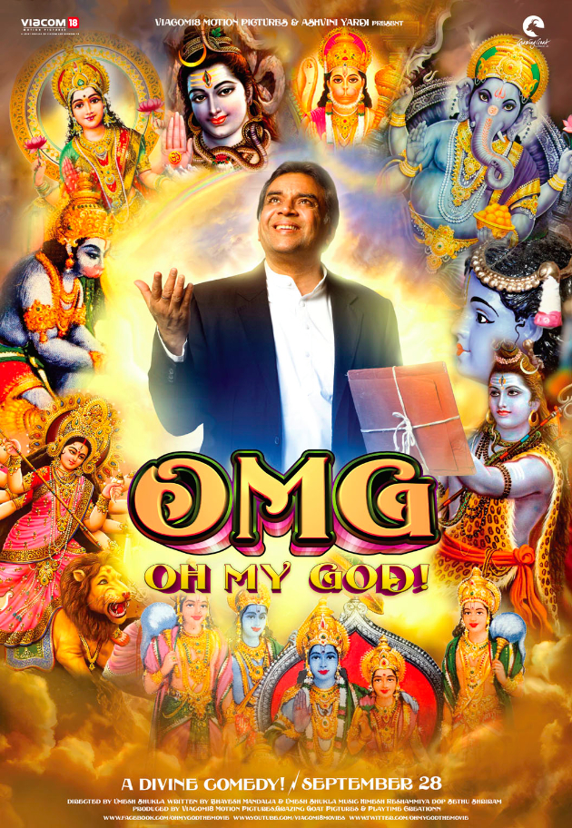 omg poster1 Akshay Kumar to unveil the trailer of OMG Oh My God on Janmashtami