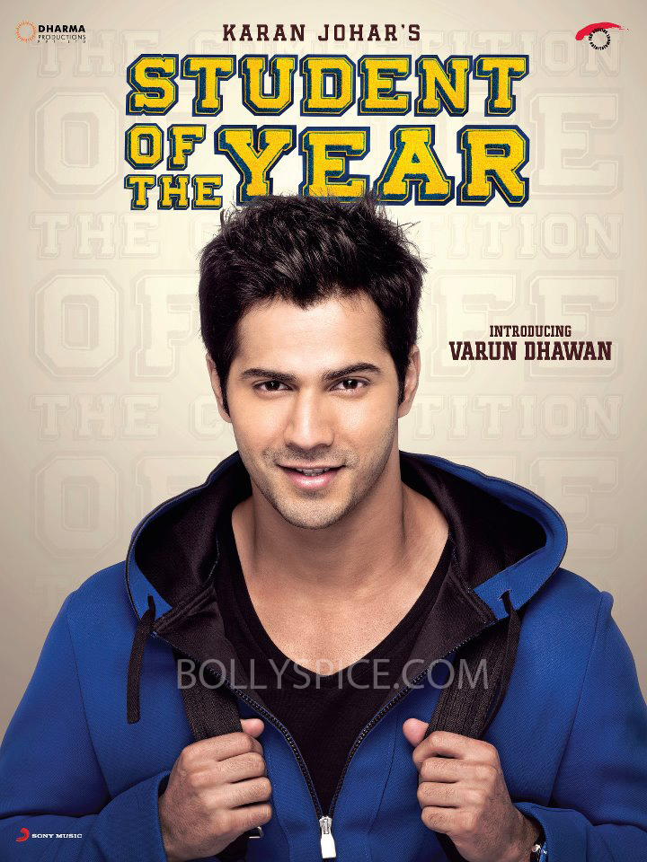 varunsotyposter copy Now Meet Varun Dhawan from Student of the Year