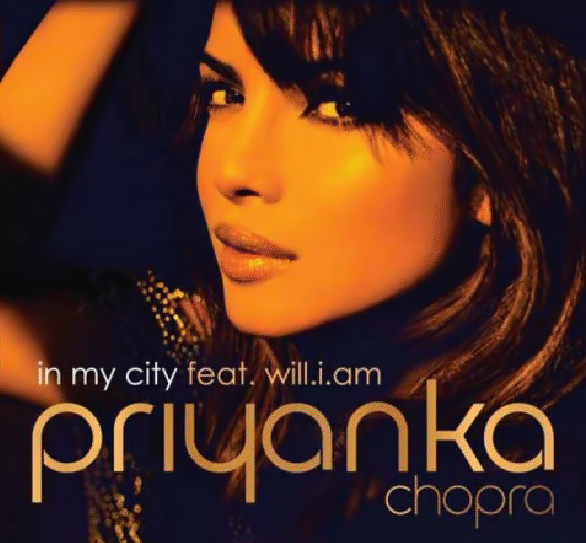 09sep priyankacd Priyanka's In My City single cover revealed!