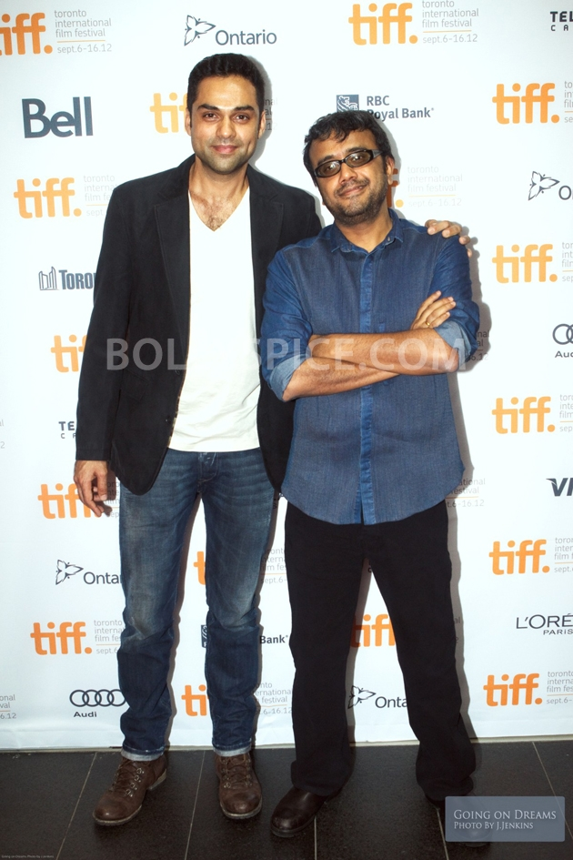12sep Abhay Dibakar ShanghaiTIFF00 In Photos: Abhay Deol and Dibakar Banerjee at TIFF opening