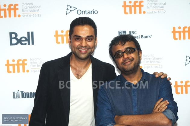 12sep Abhay Dibakar ShanghaiTIFF01 In Photos: Abhay Deol and Dibakar Banerjee at TIFF opening