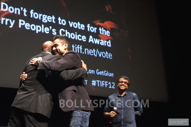 12sep Abhay Dibakar ShanghaiTIFF02 In Photos: Abhay Deol and Dibakar Banerjee at TIFF opening