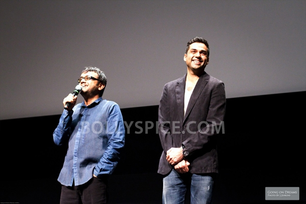 12sep Abhay Dibakar ShanghaiTIFF04 In Photos: Abhay Deol and Dibakar Banerjee at TIFF opening