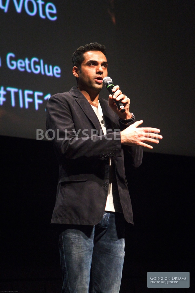 12sep Abhay Dibakar ShanghaiTIFF07 In Photos: Abhay Deol and Dibakar Banerjee at TIFF opening