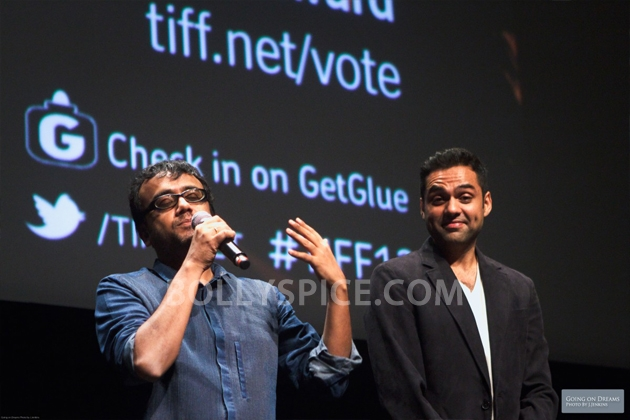 12sep Abhay Dibakar ShanghaiTIFF08 In Photos: Abhay Deol and Dibakar Banerjee at TIFF opening