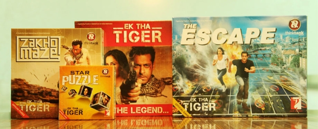12sep EkThaTigerGames Exclusive Ek Tha Tiger Games from YRF Merchandise